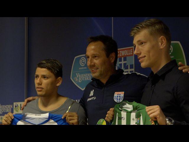 PEC Zwolle contracteert eerste twee aanwinsten