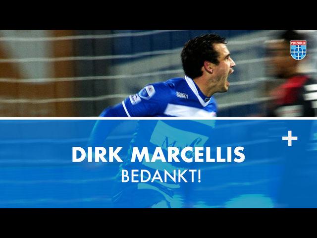 Dirk Marcellis bedankt!
