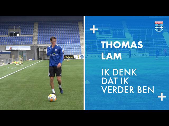Thomas Lam: 'Ik denk dat ik verder ben.'
