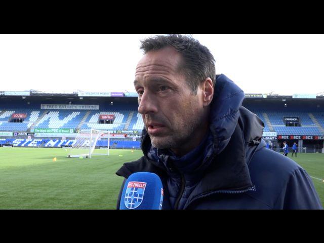 John van 't Schip: 'Wij moeten zorgen dat we er bovenop zitten.'