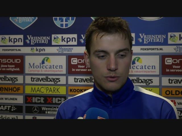 Erik Bakker: 'We hebben tegen een goede ploeg een goede wedstrijd neergezet.'