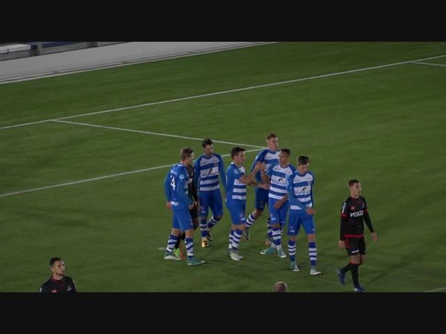 Samenvatting Jong PEC Zwolle - Jong Helmond Sport