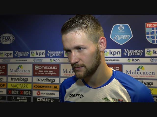 Piotr Parzyszek: 'Ik had écht het gevoel dat de goal vandaag ging vallen.'