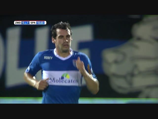 Samenvatting PEC Zwolle - Sparta Rotterdam