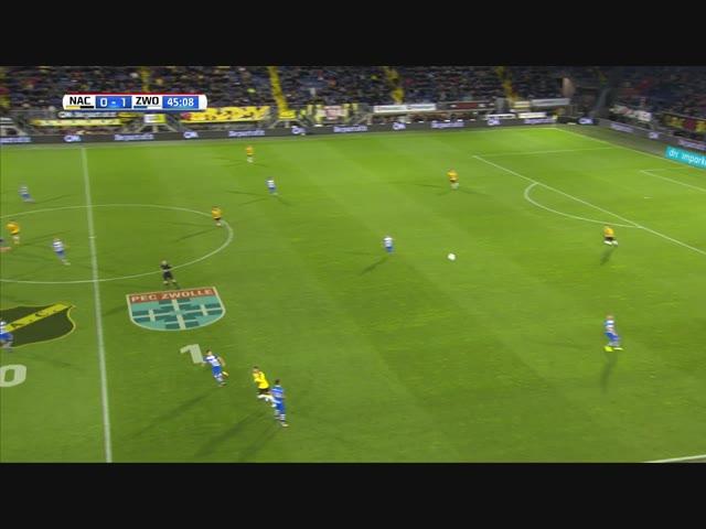 Samenvatting NAC Breda - PEC Zwolle 0-2
