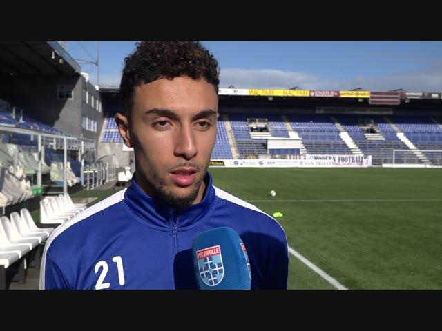 Younes Namli: 'Dichtbij een doelpunt ben ik vaker.'