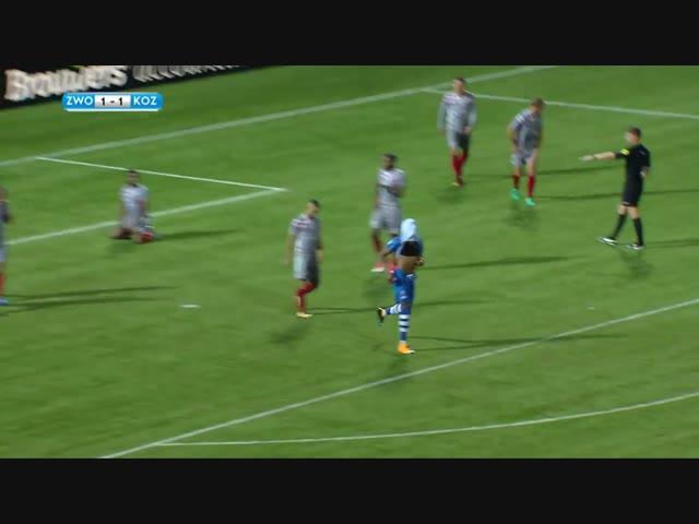 Samenvatting PEC Zwolle - Kozakken Boys: 3-2