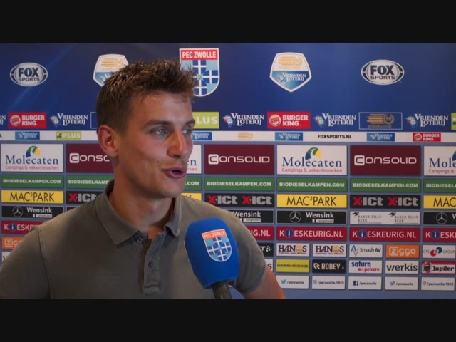 Erik Bakker keert terug bij PEC Zwolle