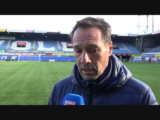 Dirk Marcellis: 'Het wordt weer afwachten, aftasten en daarop anticiperen.'