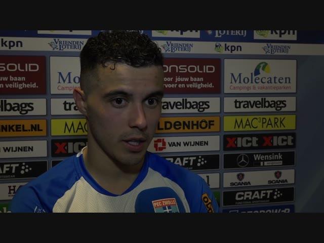 Mustafa Saymak: 'Dan weet je dat je een hele lastige wedstrijd gaat spelen.'