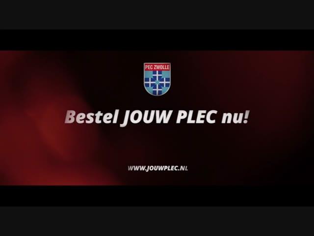JOUW PLEC. Jouw seizoenkaart 2018-2019