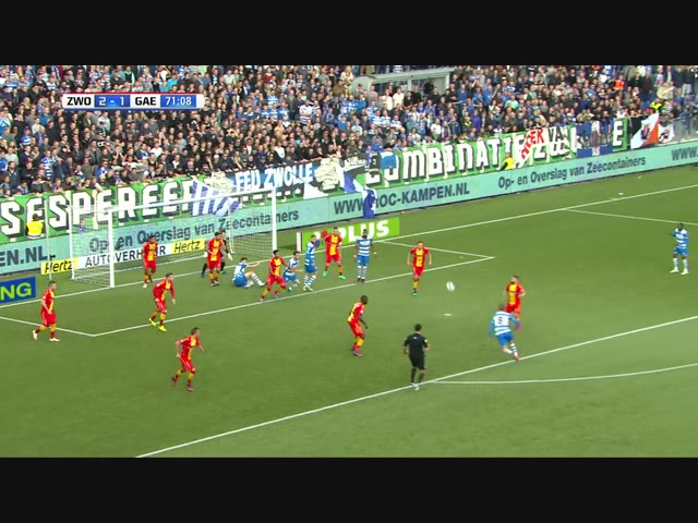 Samenvatting PEC Zwolle - Go Ahead Eagles
