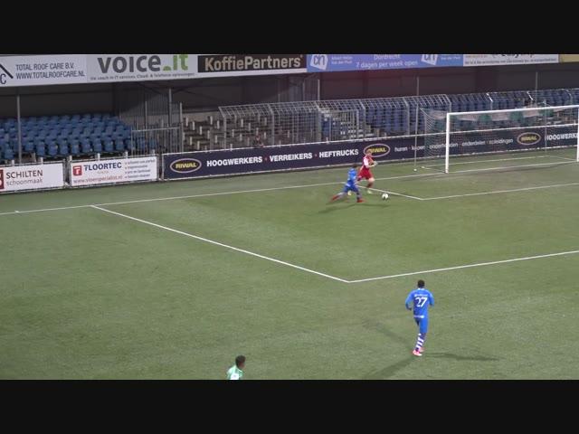 Samenvatting Jong FC Dordrecht - Jong PEC Zwolle