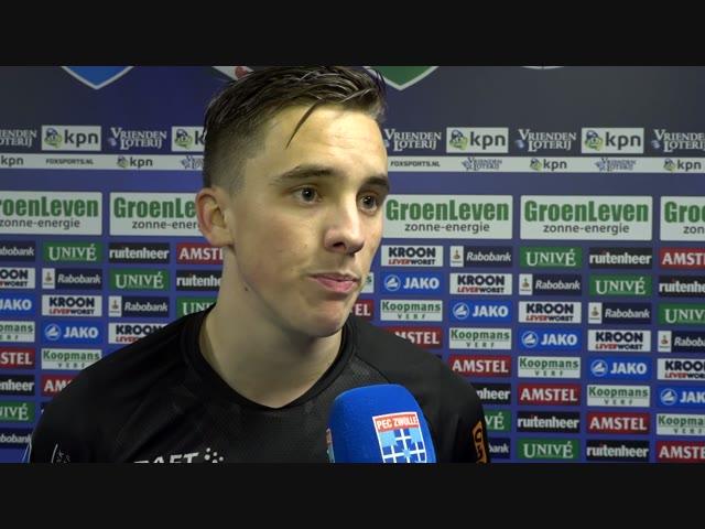 Ryan Thomas: 'Het is belangrijk dat we de punten hier gehaald hebben.'