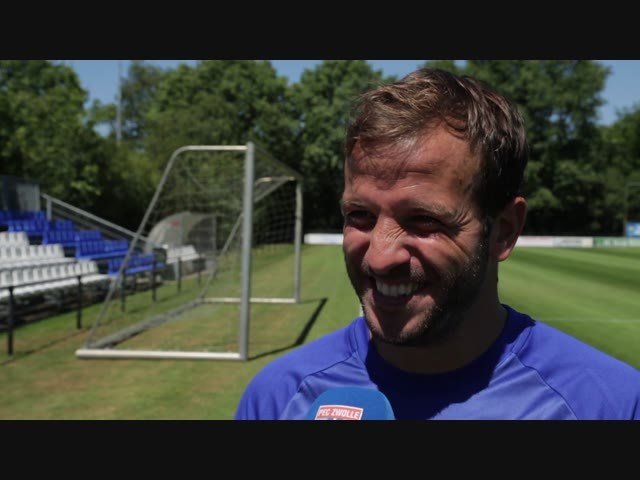 Rafael van der Vaart: 'Leuke gasten en een leuk team.'