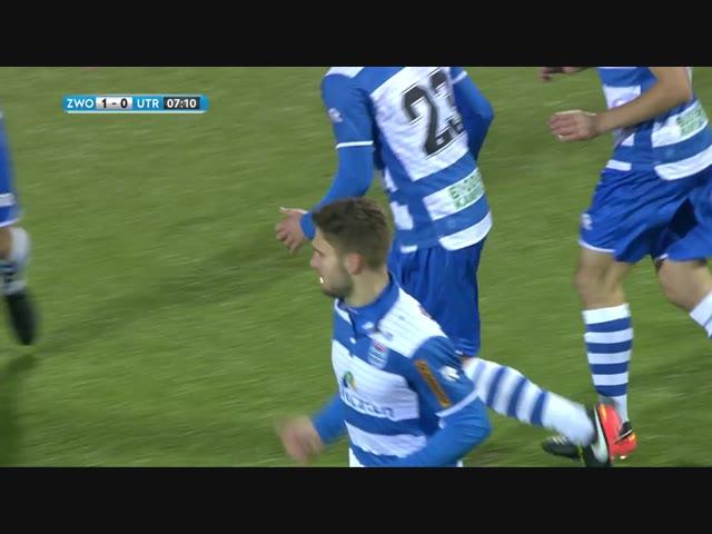samenvatting PEC Zwolle - FC Utrecht.
