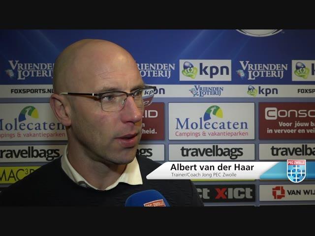 Samenvatting Jong PEC Zwolle - Helmond Sport