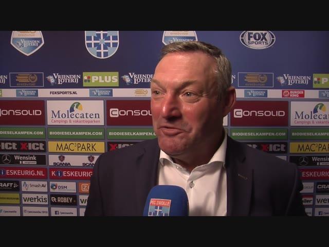 Nabeschouwing PEC Zwolle - sc Heerenveen