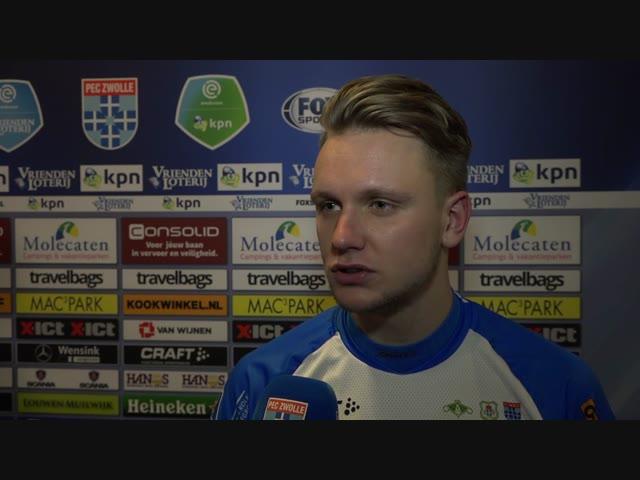 Wouter Marinus: 'Ik probeer belangrijk te zijn voor het team.'