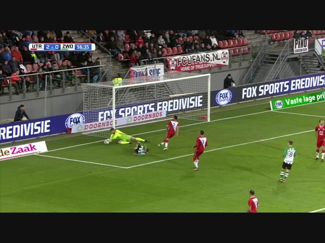 Samenvatting FC Utrecht - PEC Zwolle