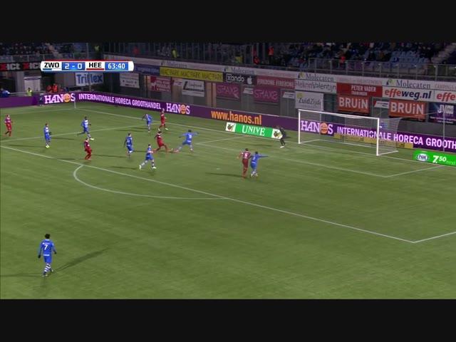 PEC Zwolle de sterkste in vrieskou