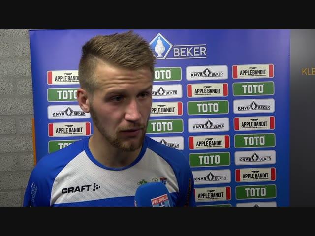 Piotr Parzyszek: 'Ik was blij dat ik hem mocht nemen.'