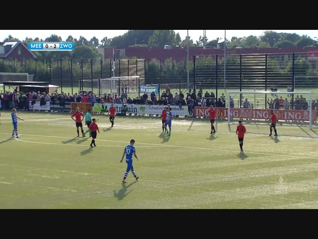 Samenvatting VV De Meern - PEC Zwolle