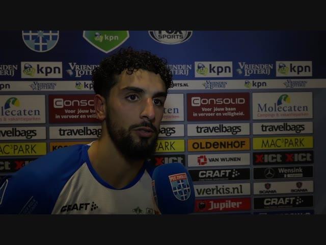 Youness Mokhtar: 'Dit toont aan hoe sterk wij zijn als team.'