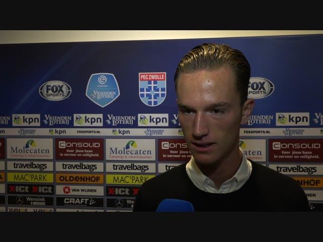 Van Looy tekent contract bij PEC Zwolle
