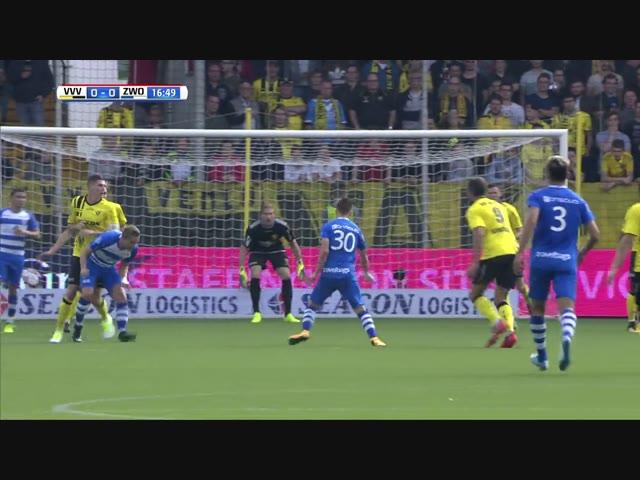 Samenvatting VVV-Venlo - PEC Zwolle: 1-1