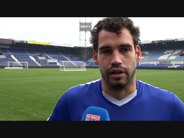 Younes Namli: 'Gelukkig ben ik snel hersteld.'