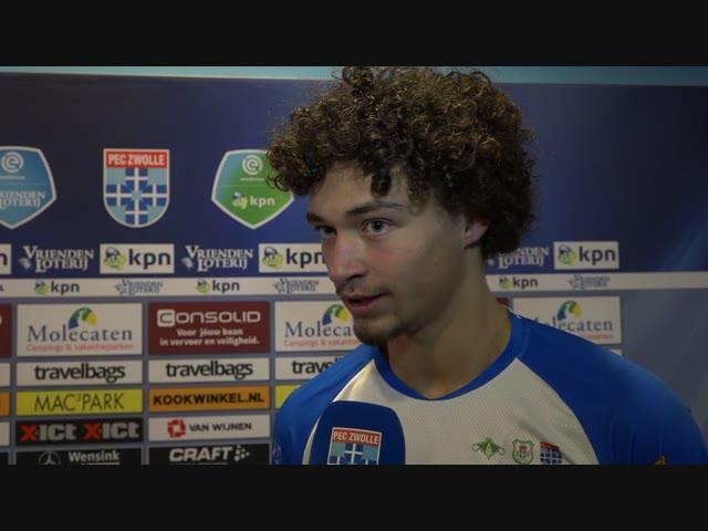 Philippe Sandler: 'We moeten de goede punten uit de tweede helft meenemen.'