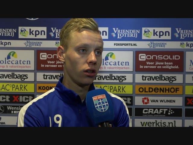 Bram van Polen: 'Ik denk dat wij vandaag de betere ploeg waren.'