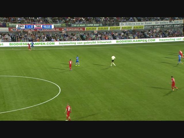 PEC Zwolle boekt prachtige overwinning op FC Twente
