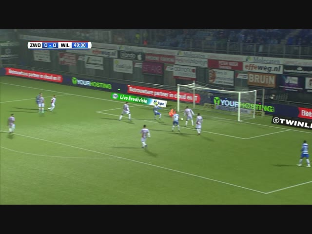 Samenvatting PEC Zwolle - Willem II