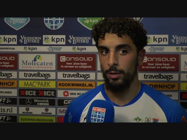 Youness Mokhtar: 'Ik dacht binnendoor versnellen en rustig binnenschieten.'