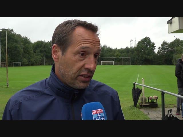 Erik Bakker: 'Door de goede start hebben we vertrouwen.'