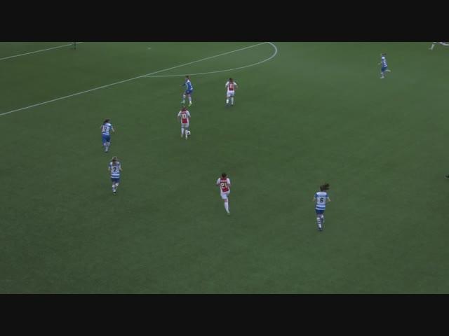 Samenvatting PEC Zwolle Vrouwen - Ajax Vrouwen
